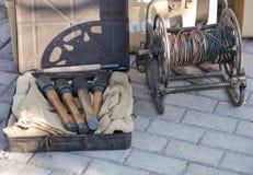 Alemão dos explosivos e das granadas da segunda guerra mundial Foto de Stock Royalty Free