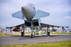 Alemão Eurofighter em Radom Airshow, Polônia Foto de Stock