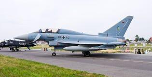 Alemão Eurofighter em Radom Airshow, Polônia Fotos de Stock Royalty Free