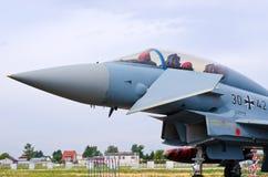 Alemão Eurofighter em Radom Airshow, Polônia Imagem de Stock Royalty Free