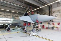 Alemão Eurofighter Typhoon Fotos de Stock