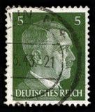 Alemão Reich Postage Stamp desde 1941 foto de stock royalty free