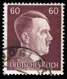 Alemão Reich Postage Stamp desde 1945 imagem de stock