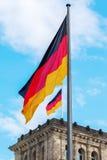 Alemão Reichstag em Berlim, Alemanha Foto de Stock