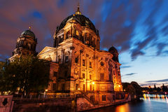 Alemão Reichstag em Berlim, Alemanha Imagem de Stock Royalty Free