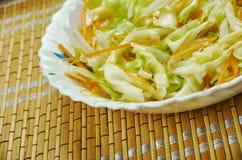 Alemão tradicional Krautsalat Imagem de Stock