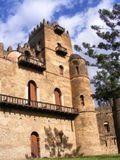 Alem-seghed Fasil's castle in Ethiopia. Royalty Free Stock Images