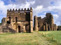 Alem-Seghed Fasil's castle in Ethiopia Stock Photography