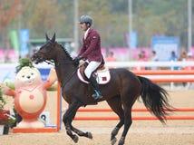 ALEMADI Khalid Mohammed A S van Qatar Royalty-vrije Stock Fotografie