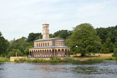 Alemanha, Berlim, Wannsee, igreja imagens de stock royalty free