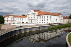 Alemanha, castelo Oranienburg Imagem de Stock Royalty Free