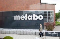 ALEMANHA - 30 de maio de 2012: Planta de Metabo no Nurtingen em Alemanha do sul Imagens de Stock Royalty Free