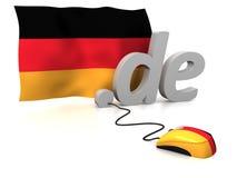 Alemanha em linha imagens de stock