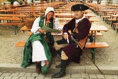 Alemanha, festival medieval Imagem de Stock Royalty Free