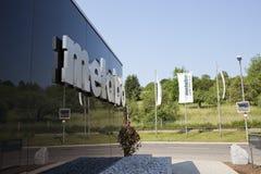ALEMANIA - 30 de mayo de 2012: Planta de Metabo en el Nurtingen en Alemania meridional Foto de archivo libre de regalías