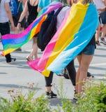 Alemania, Hamburgo - 4 de agosto de 2018: Día de la calle de Christopher Desfile del amor en Hamburgo fotografía de archivo libre de regalías
