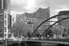 Alemania, Hamburgo, Elba Pasillo filarmónico Imagenes de archivo