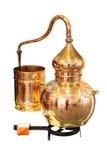 Alembickoppar - destillationapparatur Royaltyfria Bilder