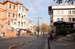 Alemdar Street. Of Istnanbul in turkey at sunny day Stock Photo