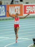 Alemitu Bekele of Turkey Stock Photo