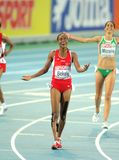 Alemitu Bekele of Turkey Stock Images