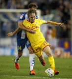 Alen Halilovic of Sporting Gijon Stock Photos