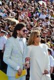Alena Doletskaya and Mikhail Druyan Stock Photo