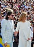 Alena Doletskaya and Mikhail Druyan Royalty Free Stock Images