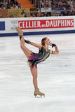 Alena Leonova - russian figure skater Stock Photo