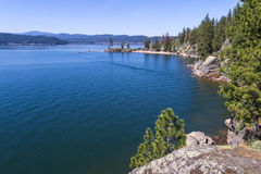 ` Alene, Idaho de Coeur d Image stock