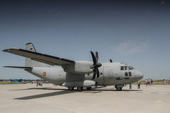Alenia C-27J Spartan airplane Royalty Free Stock Photography