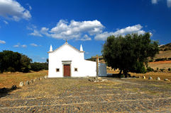 alentejo教会monsaraz葡萄牙 免版税库存图片