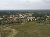 Alentejo landscape. Beautiful Alentejo landscape in Portugal small town Royalty Free Stock Image