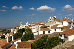 alentejo monsaraz葡萄牙村庄 免版税库存图片