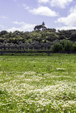 Alentejo region typical fields landscape, Portugal. Royalty Free Stock Photos
