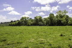 Alentejo region typical fields landscape, Portugal. Stock Photos