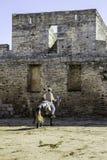Alentejo Town of Monsaraz castle inner space. Portugal Royalty Free Stock Photos