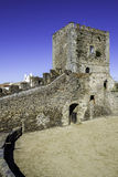 Alentejo Town of Monsaraz castle inner space. Portugal Royalty Free Stock Photography