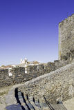 Alentejo Town of Monsaraz castle inner space. Portugal Stock Photography