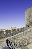 Alentejo Town of Monsaraz castle inner space. Portugal Stock Photography