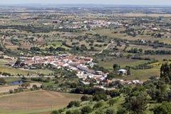 Alentejo wioski i równiny obraz royalty free