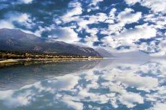 Alepochori风景希腊 免版税库存图片