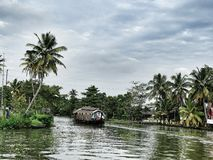 Aleppey Backwaters Stock Images