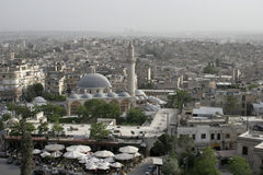 Aleppo from above, Syria Stock Photography