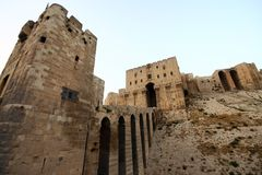 Aleppo Castle Royalty Free Stock Photo