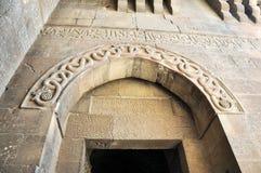 Aleppo castle gate Stock Photos