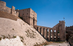 Aleppo Citadel Royalty Free Stock Images