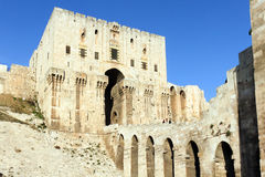 Aleppo Citadel, Syria Stock Photo