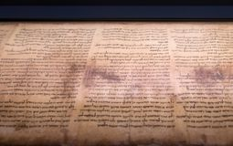 Free Aleppo Codex Is A Medieval Bound Manuscript Of The Hebrew Bible Royalty Free Stock Photo - 129284675