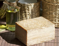 Aleppo natural soap Stock Photography
